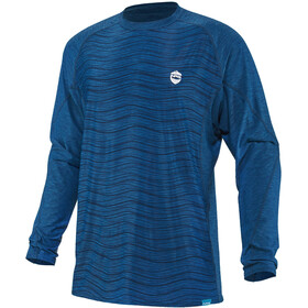 NRS H2Core Silkweight Camiseta Manga Larga Hombre, azul